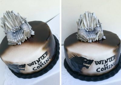 Malakofftorte im Game of Thrones Design